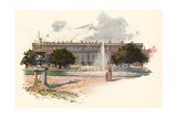 Hampton Court C1895 Giclee Print by Charles Wilkinson