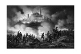 1848, Attack on Volta Giclee Print by Ferdinand Perrin