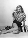 Pin-Up in Shorts 1950S Photographic Print by Charles Woof