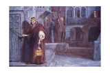 Merchant of V - Shylock Giclee Print by Chas A Buchel