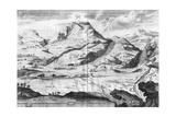 Jerusalem, Mount Olives Giclee Print by Dom Augustin Calmet