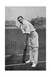 Cricket Charles Burgess Fry Giclee Print by E. Hawkins