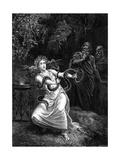 Delphi Oracle Giclée-tryk af Emile Bayard