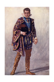 Merchant of V - Bassanio Giclee Print by Chas A Buchel