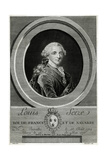 Louis XVI, King of France Giclee Print