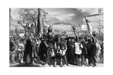 1848, Naples, Demo Giclee Print by Ferdinand Perrin