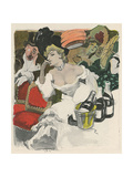Carnival Party 1906 Giclee Print by Ernst Heilemann