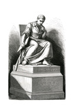 Giovanni Cassini Statue Giclee Print by E Thomas