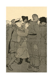 WW1 Cartoon, Russian Rev Giclee Print by Eduard Thony