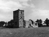Knowlton Church Photographic Print by Colin Cornell