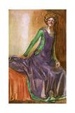 Englishwoman 1385 Giclee Print by Dion Clayton Calthrop