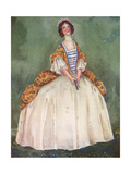 English Woman of 1710 Giclee Print by Dion Clayton Calthrop