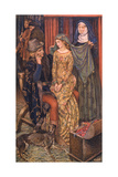 Geraint and Enid Giclee Print by Eleanor Fortescue Brickdale