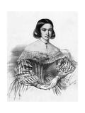 Anais Menard Segalas Giclee Print by Emile Lassalle