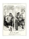 WW1 - Cartoon - General Joffre and Grand Duke Nicholas Premium Giclee Print by F.h. Townsend
