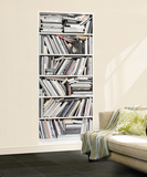Bookcase Wall Mural Wallpaper Mural