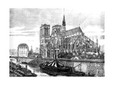 Paris, France - Notre-Dame Giclee Print by Felix Thorigny