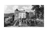 Saint Germain En Laye Giclee Print by Eugene Lami