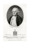 Philip Affleck, Admiral Giclee Print by Edward Penny