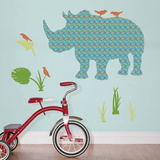 Rupert the Rhinoceros Wall Art Kit Wall Decal