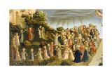 Judgment Day Giclée-tryk af Fra Angelico Fra Angelico
