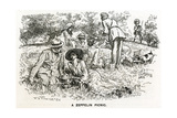 WW1 - Well-Prepared Picnickers Giclee Print by F.h. Townsend
