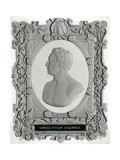 Samuel Taylor Coleridge Giclee Print by E.W. Wyon