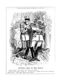 WW1 - Cartoon - Austria and Germany Premium Giclee Print by F.h. Townsend