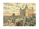 Isabeau de Baviere Premium Giclee Print by Eugene Courboin