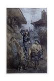 Quixote Seeks Dulcinea Giclee Print by Edmond Morin