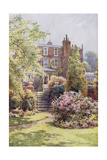 Home of Charles Dickens at Gadshill, Kent Giclee Print by EW Haslehust