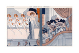 Theatre from a Box 1909 Giclee Print by Ed Touraine
