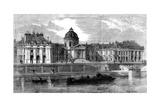 Paris, France - Palais de L'Institut Giclee Print by Felix Thorigny