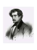 J J Grandville Giclee Print by Emile Lassalle