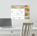 Pop Art Dry Erase Calendar Kalkomania ścienna