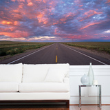 Highway Wall Mural Wallpaper Mural