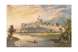 Windsor Castle, 1863 Giclee Print by Edmund Evans