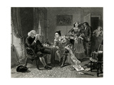 Goldsmith and Johnson Giclee Print by Edward Matthew Ward