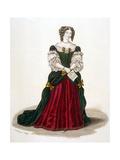 Francoise de Grignan Giclee Print by Ed Hargrave