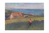 Cornwall, Mounts Bay 1909 Giclee Print by Elizabeth Forbes