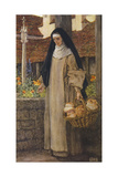 Guinevere a Nun Giclee Print by Eleanor Fortescue Brickdale