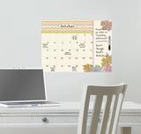 St. Tropez Dry Erase Calendar Kalkomania ścienna