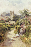 Bere Regis, Dorset Photographic Print by Ernest W Haslehust