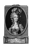 Jeanne Becu Comtesse Du Barry Giclee Print by Elisabeth Vigee-Lebrun