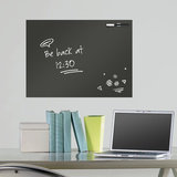 Black Dry Erase Message Board Wall Decal