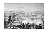 1848, Governolo Battle Giclee Print by Ferdinand Perrin