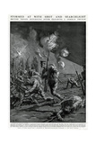 Return after Clearing German Trench 1915 Giclee Print by Frank Gillett