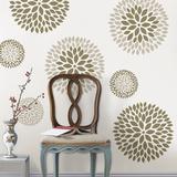 Chrysanthemum Kit - Duvar Çıkartması