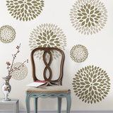 Chrysanthemum Kit Wall Decal