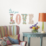 Do What You Love Quote Autocollant mural